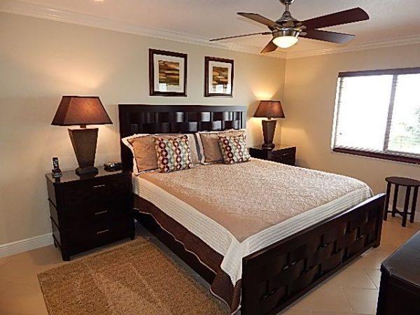 Crescent Royale Condominiums Master Bedroom