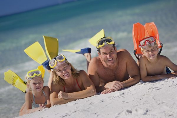 image of siesta key spring break for families